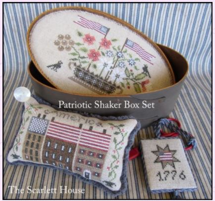 click here to view larger image of Patriotic Shaker Box Set (chart)