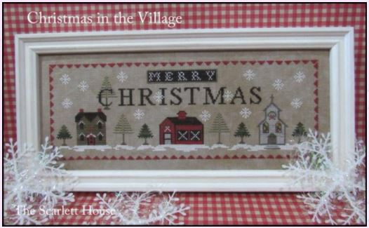 click here to view larger image of Christmas in the Village (chart)