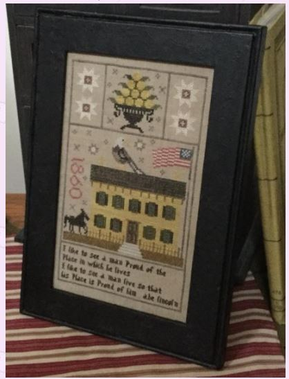 click here to view larger image of Lincoln Home 1860 Sampler (chart)