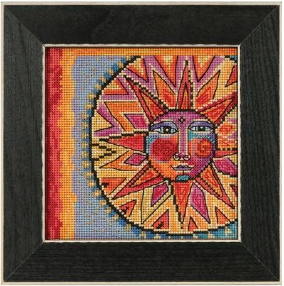 click here to view larger image of Celestial Blue (counted cross stitch kit)