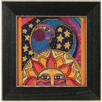 click here to view larger image of Celestial Joy (counted cross stitch kit)