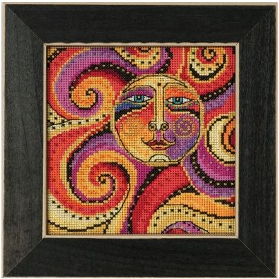 click here to view larger image of Celestial Sun (counted cross stitch kit)