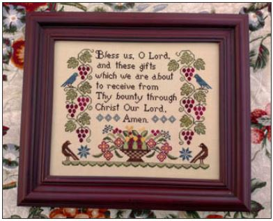 click here to view larger image of Bless Us (chart)