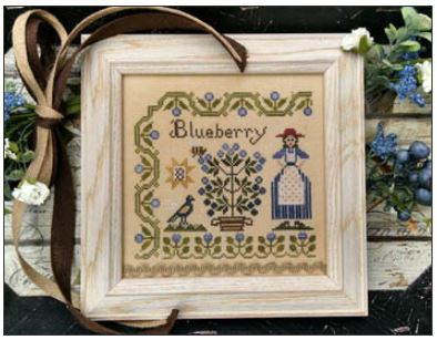 click here to view larger image of Dinah's Garden - Blueberry (chart)
