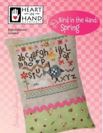 click here to view larger image of Bird In The Hand - Spring (chart with charms/buttons)