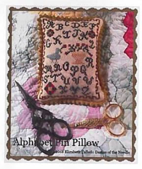 click here to view larger image of Alphabet Pin Pillow (chart)