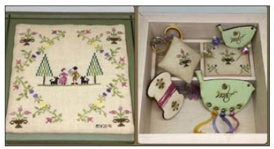 click here to view larger image of Our Springtime Sewing Box (chart)