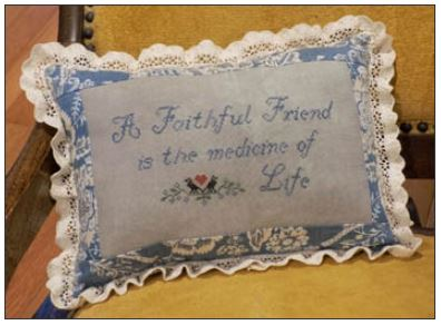 click here to view larger image of Faithful Friend (chart)