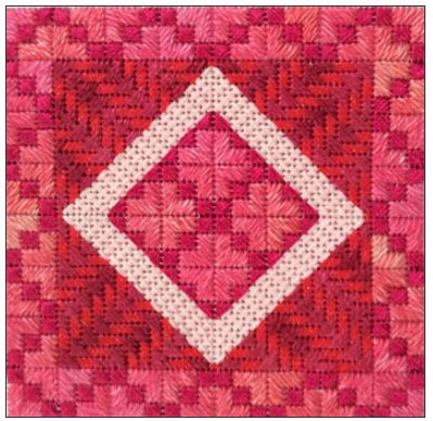 click here to view larger image of Color Delights - Watermelon (counted canvas chart)