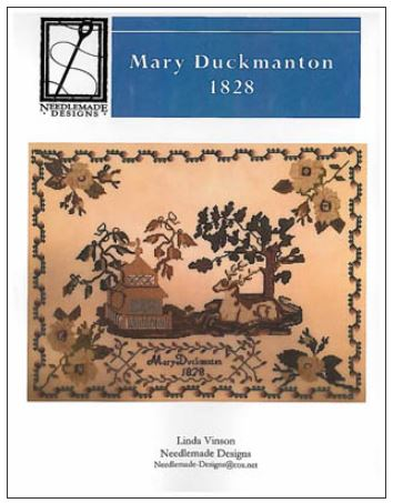 click here to view larger image of Mary Duckmanton 1828 (chart)