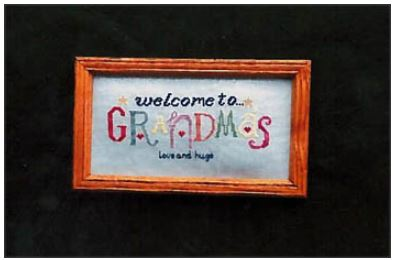 click here to view larger image of Welcome To Grandma's (chart)