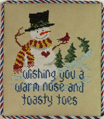 click here to view larger image of Snowman Wishes (chart)