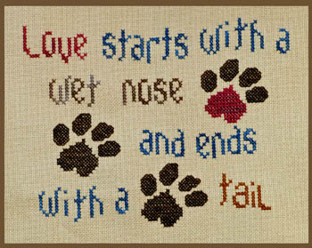 click here to view larger image of Doggie Love (chart)