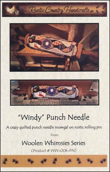 click here to view larger image of Windy (Punchneedle)