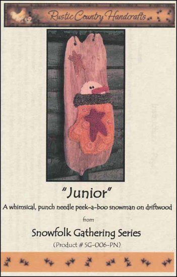 click here to view larger image of Junior (Punchneedle)