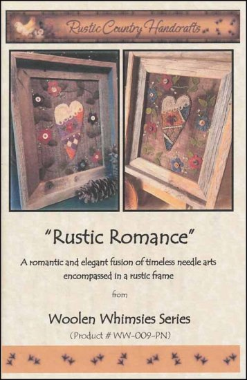 click here to view larger image of Rustic Romance (Punchneedle)