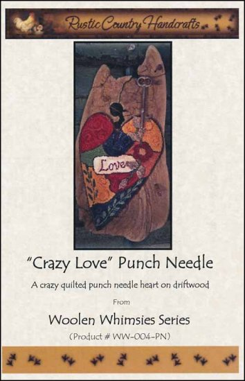 click here to view larger image of Crazy Love (Punchneedle)