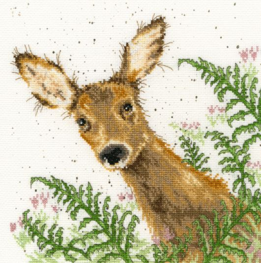 click here to view larger image of Doe A Deer (counted cross stitch kit)