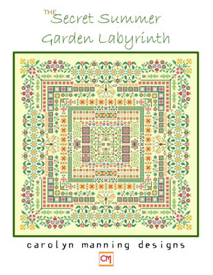 click here to view larger image of Secret Summer Garden Labyrinth (chart)
