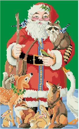 click here to view larger image of Classic Santa (chart)