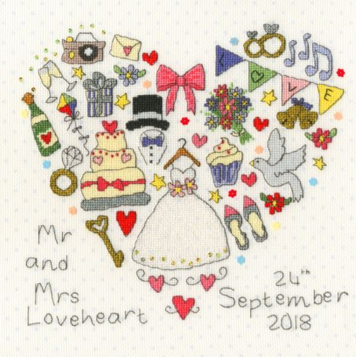 click here to view larger image of Big Day (counted cross stitch kit)