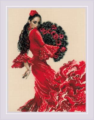 click here to view larger image of Dancer (counted cross stitch kit)