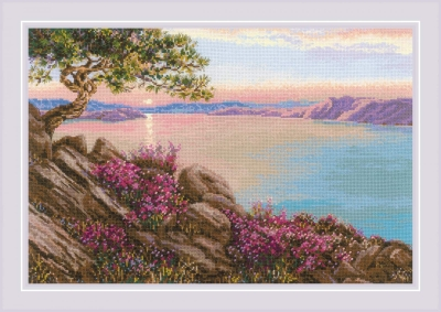 click here to view larger image of Lake Baikal (counted cross stitch kit)