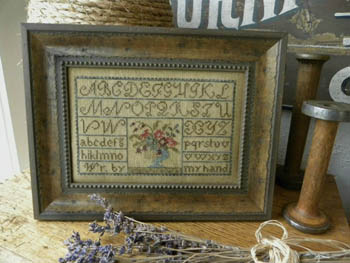 click here to view larger image of Painted Threads Sampler (chart)