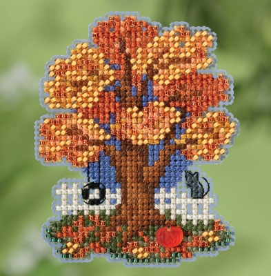 click here to view larger image of Fall Tree (2018) (button-bead kit)
