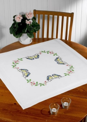 click here to view larger image of Birds Table Topper (bottom) (counted cross stitch kit)