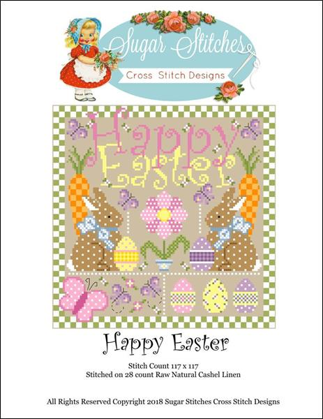 click here to view larger image of Happy Easter (chart)