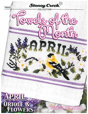 click here to view larger image of Towels Of The Month - April (chart)