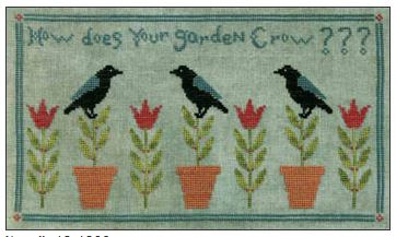 click here to view larger image of How Does Your Garden Grow (chart)