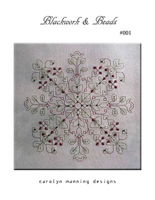 click here to view larger image of Blackwork and Beads (chart)
