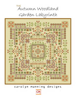 click here to view larger image of Autumn Woodland Garden Labyrinth (chart)