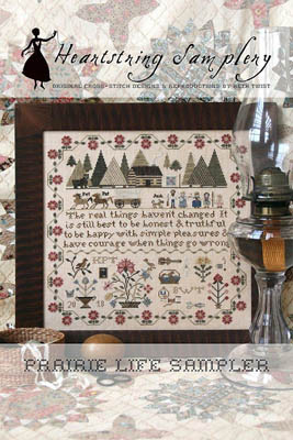 click here to view larger image of Prairie Life Sampler (chart)