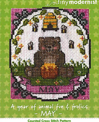click here to view larger image of Year of Animal Fun and Frolics - May (chart)