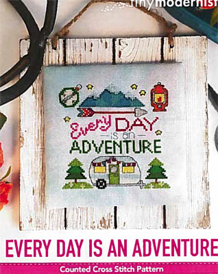 click here to view larger image of Every Day Is An Adventure (chart)