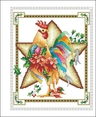 click here to view larger image of December Rooster (chart)