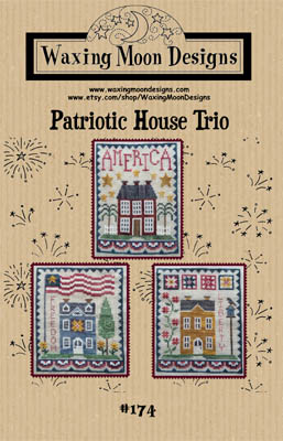 click here to view larger image of Patriotic House Trio (chart)
