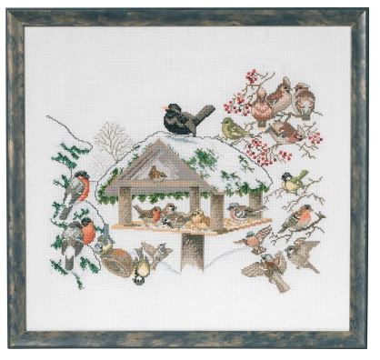 click here to view larger image of Bird Feeder (counted cross stitch kit)