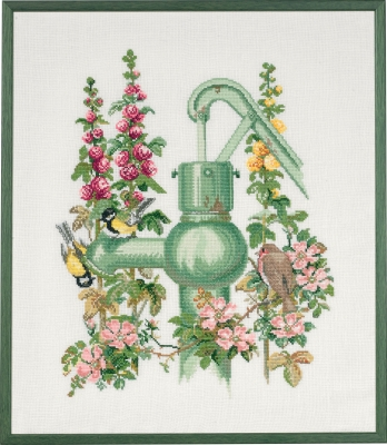 click here to view larger image of Waterpump (counted cross stitch kit)