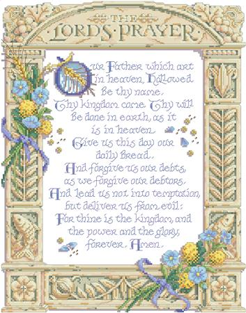 click here to view larger image of Lord's Prayer, The (chart)