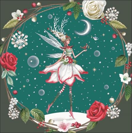 click here to view larger image of Christmas Pixie (chart)
