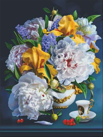 click here to view larger image of Still Life With Peonies (chart)