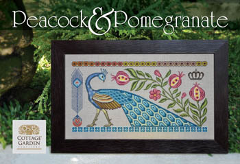 click here to view larger image of Peacock and Pomegranate (chart)