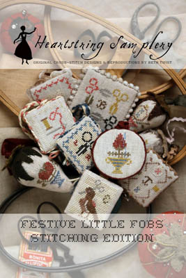 click here to view larger image of Festive Little Fobs 4 - Beekeeping Edition (chart)