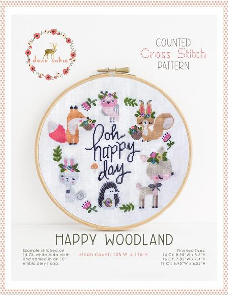 click here to view larger image of Happy Woodland (chart)