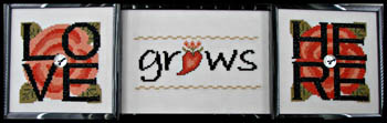click here to view larger image of Love Grows Here (chart with charms/buttons)