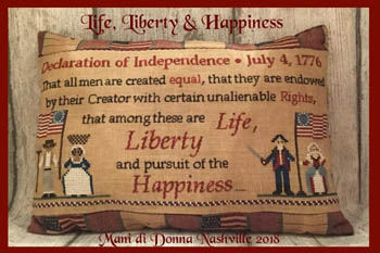 click here to view larger image of Life Liberty and Happiness (chart)